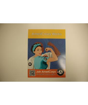 AmeriCorps Works Poster (8.5X11)