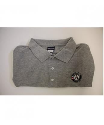 Polo-Shirt: VISTA Short Sleeve (4X) Grey