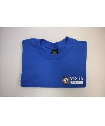 VISTA Alumni T-Shirt Summer (L)  Blue