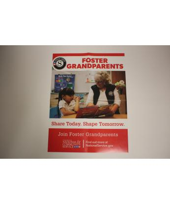 Foster Grandparents Poster