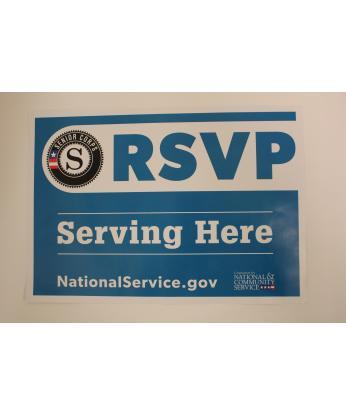RSVP Site Sign