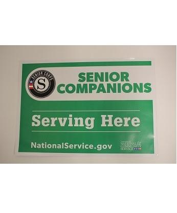 Senior Companions Site Sign