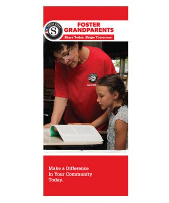 Foster Grandparents Brochure