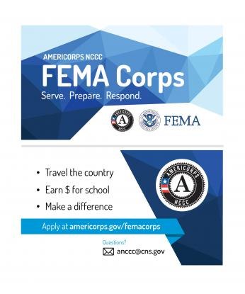 FEMA Corps Business Card – Double Sided
