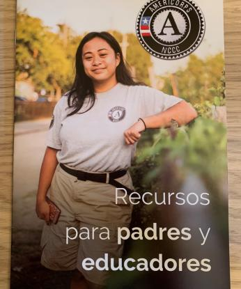 AmeriCorps NCCC Parents & Educators Toolkit (Spanish)