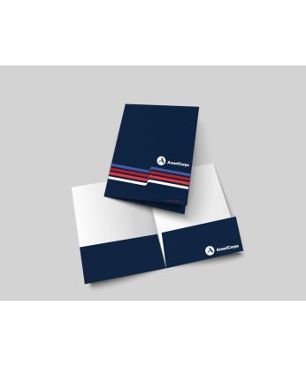 AmeriCorps Two Pocket Folders