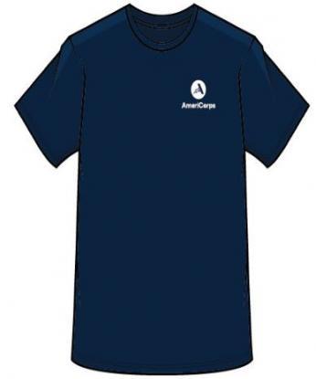 AmeriCorps Staff T-shirt (Navy)