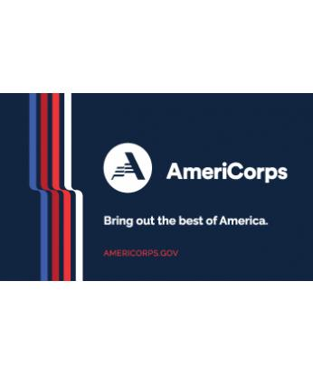 AmeriCorps Cloth Banner (3ftx5ft)