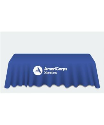 AmeriCorps Seniors Table Drape (6ft)