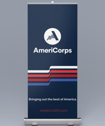 AmeriCorps Pull-up Exhibit