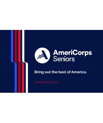 AmeriCorps Seniors Cloth Banner (Size 3'x5')