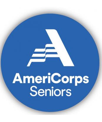 AmeriCorps Seniors Buttons (100 per bag ) Size 2-1/4