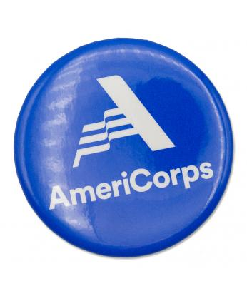 AmeriCorps Button Size 2-1/4