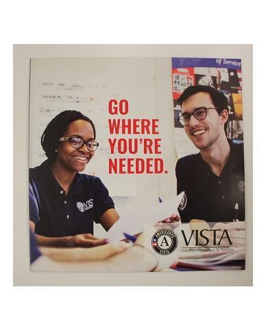 AmeriCorps VISTA Brochure