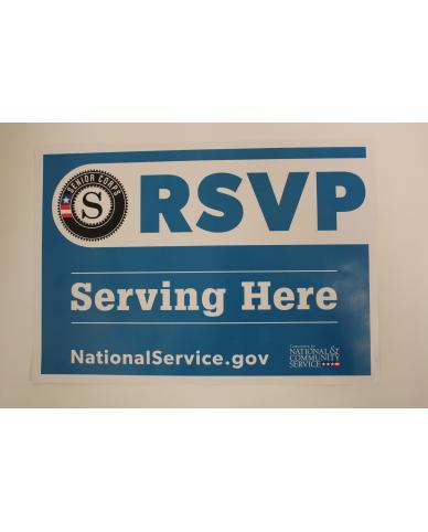 SC1038 - RSVP Serving Here Site Sign