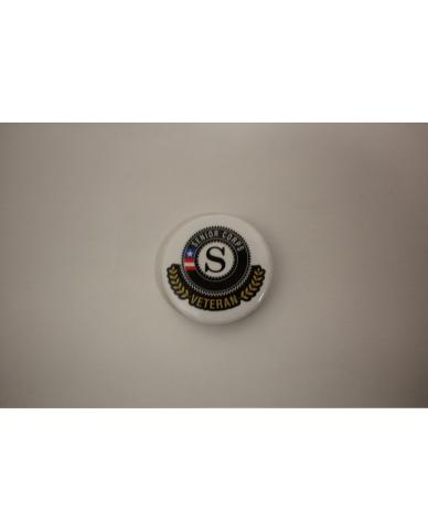 Senior Corps Veteran Buttons