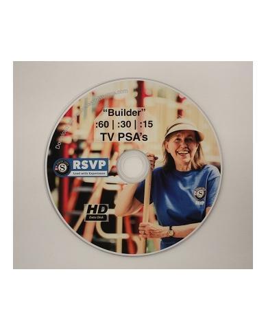 """DVD: Senior Corps RSVP """"Builder"""" PSA"""