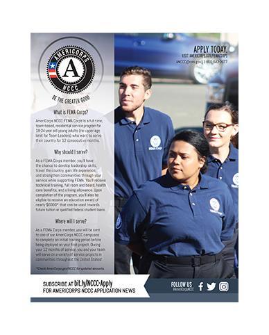 FEMA Corps Program Flyer