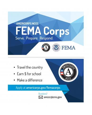 FEMA Corps Business Card – Double Sided