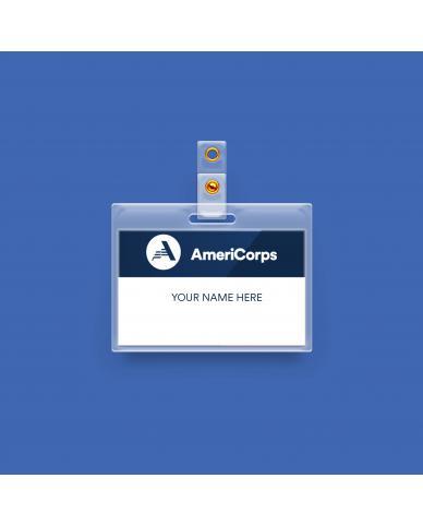 AmeriCorps Staff Name Badge