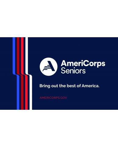 AmeriCorps Seniors Cloth Banner (Size 3'x5')