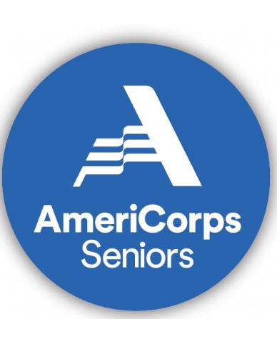 AmeriCorps Seniors Buttons (100 per bag) Size 2-1/4""