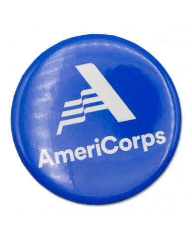 """AmeriCorps Button (Size 2-1/4"""")"""