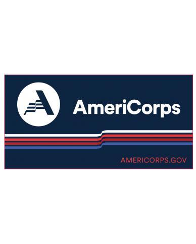 AmeriCorps VISTA Bumper Sticker